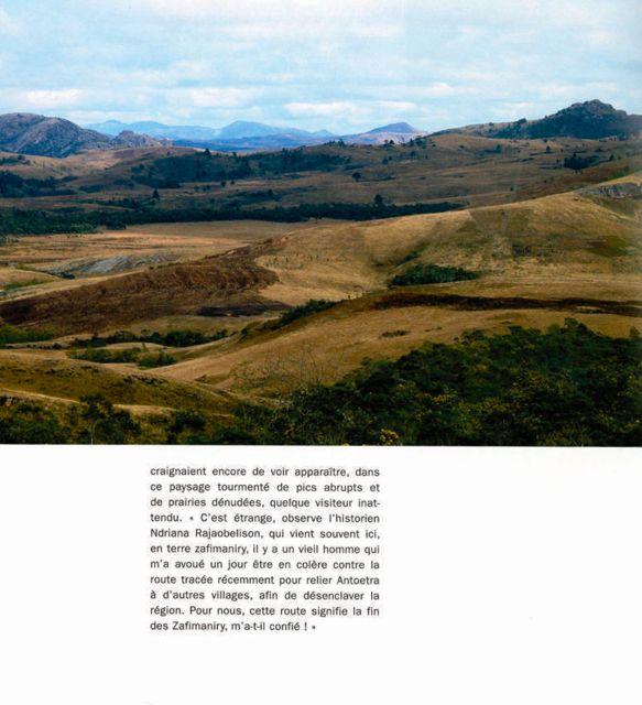 Paysage Zafimaniry à Madagascar