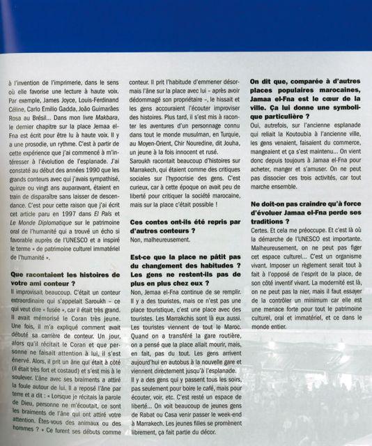 Suite de l'entretien de Juan Goytisolo