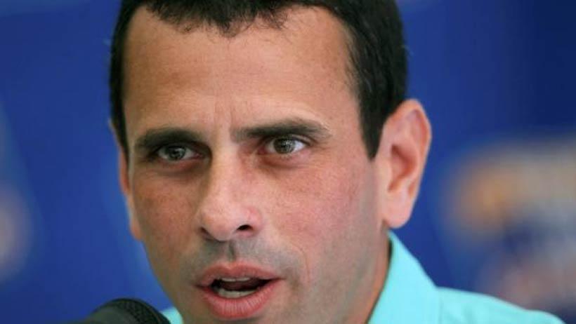 Venezuela : Capriles Radonski dénonce la violence d'Hugo Chavez - REUTERS/Jorge Silva