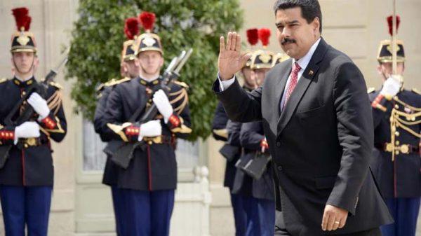 Nicolas Maduro à Paris © Bertrand Guay / AFP