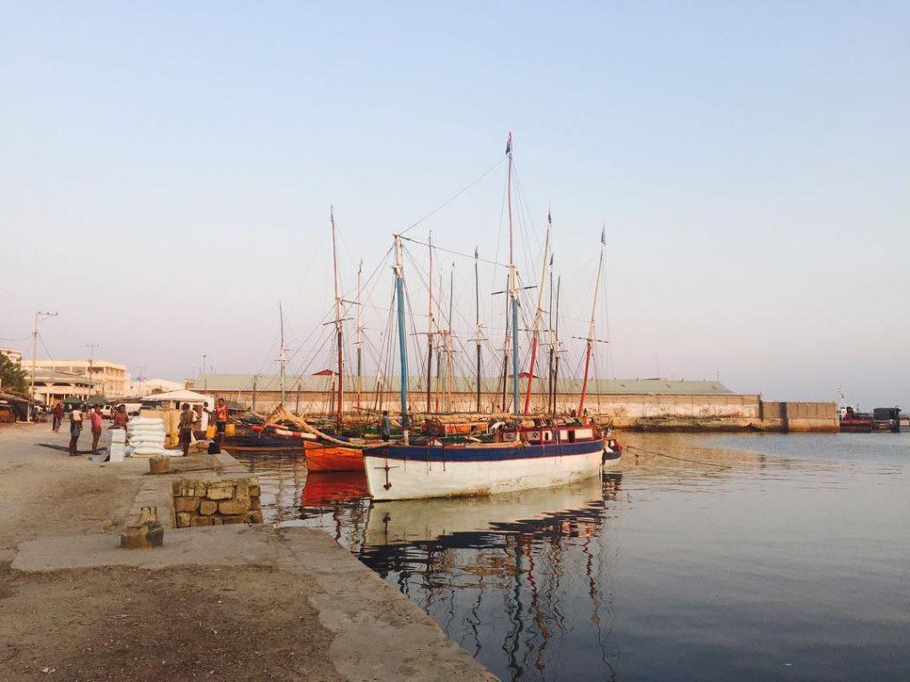 Port de Majunga, - Madagascar - François-Xavier Freland