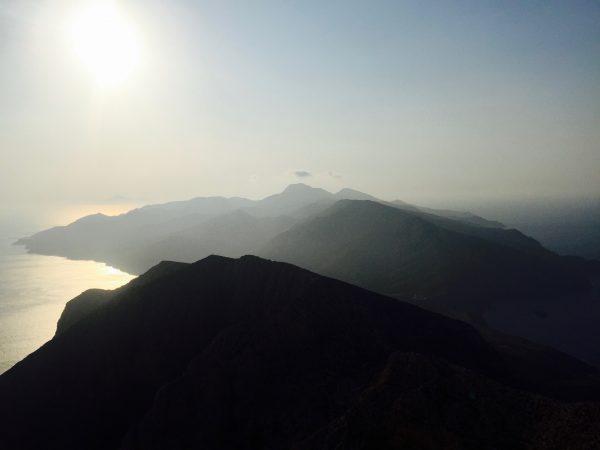 Anafi, vue du mont Kalamos