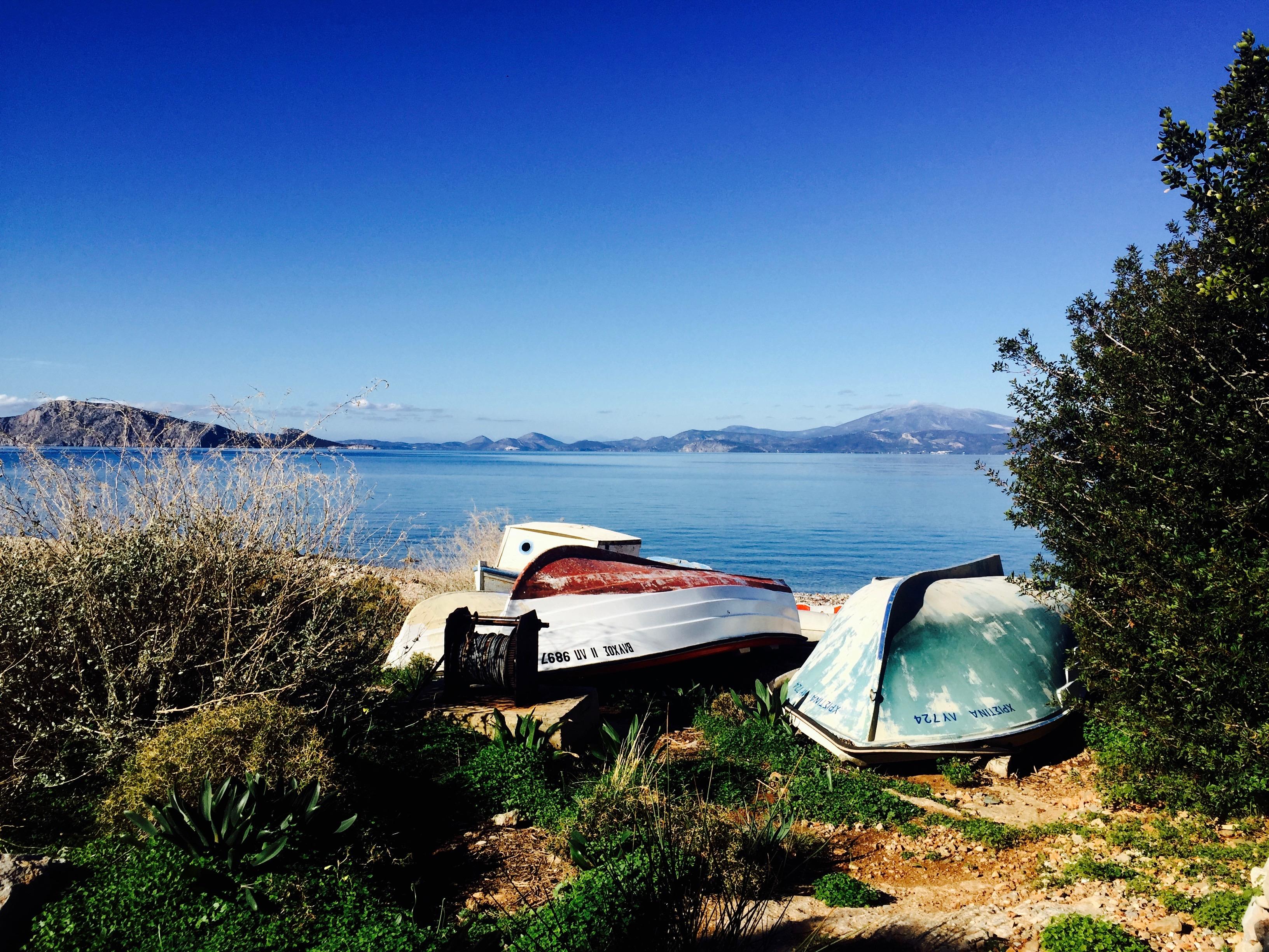 Les bateaux d'Hydra